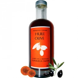 Huile olive extra vierge Bio Dunaliella salina